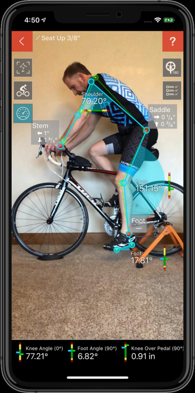 Bike Fast Fit - Video Bike Fitting iOS App